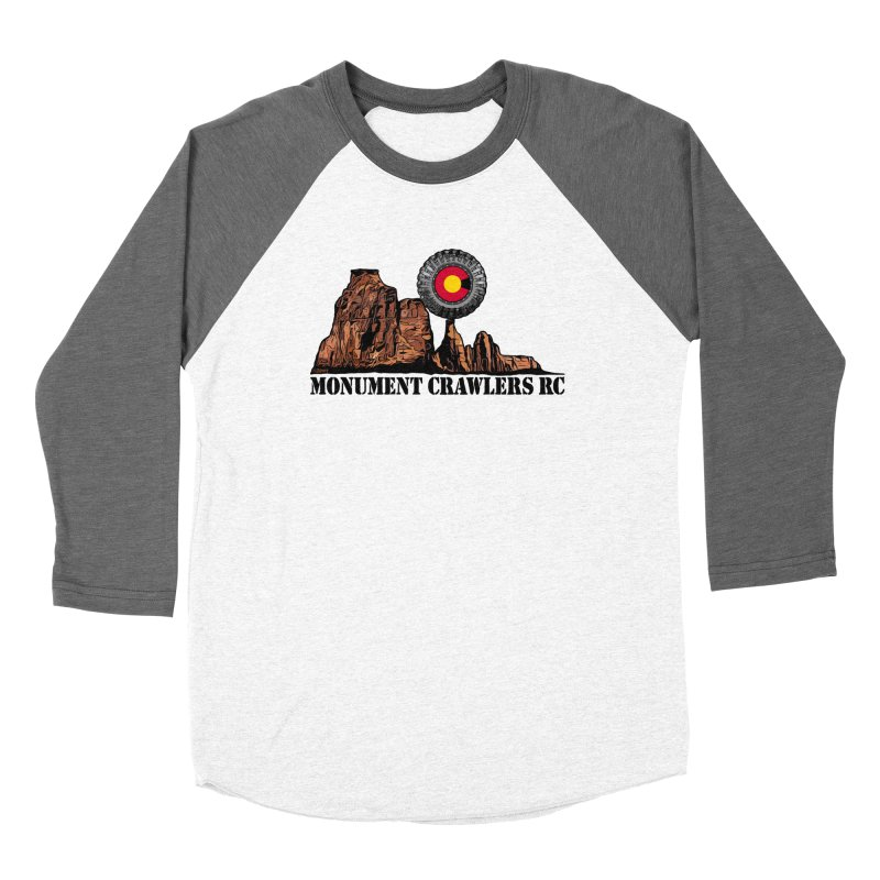MCRC Men's Baseball Triblend Longsleeve T-Shirt by Boneyard Studio - Boneyard Fly Gear
