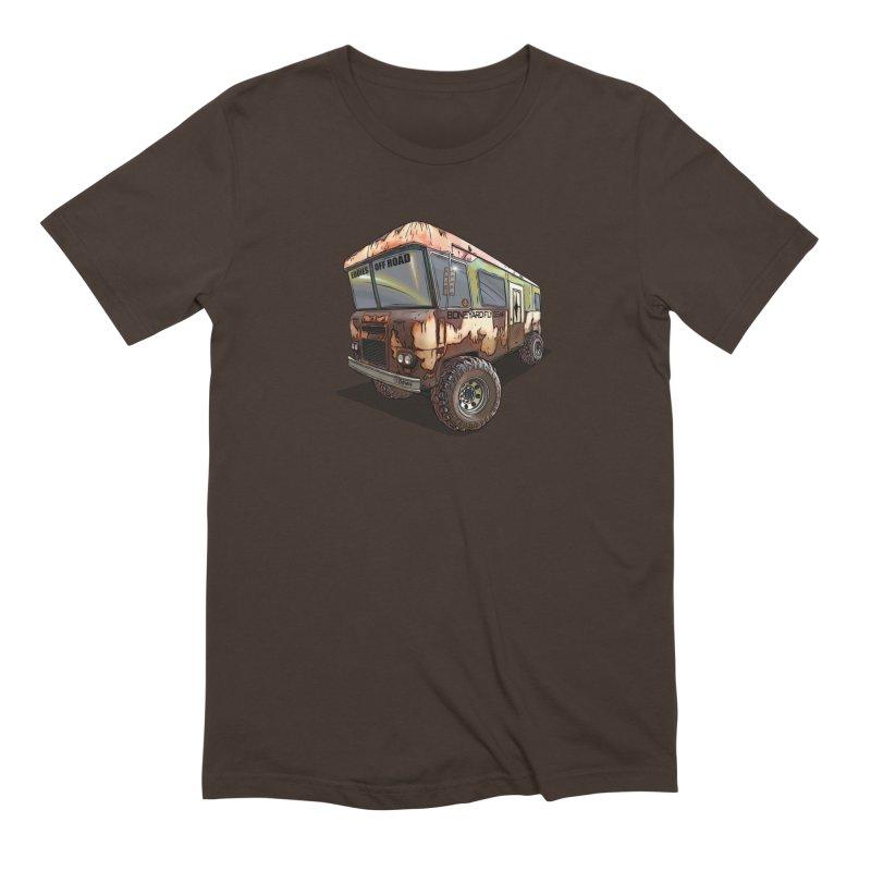 Cousin Eddie RV Men's Extra Soft T-Shirt by Boneyard Studio - Boneyard Fly Gear