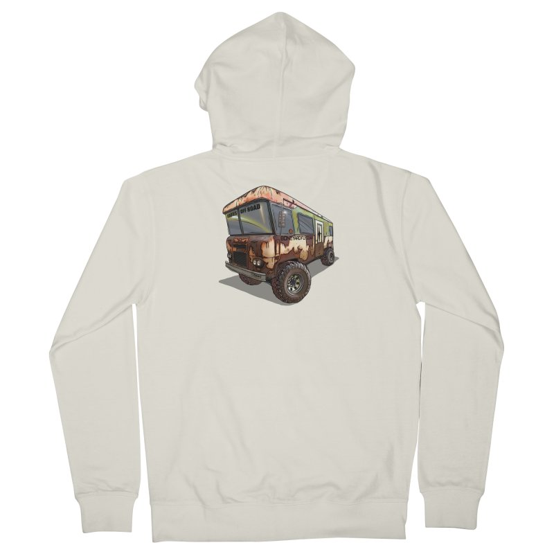 Cousin Eddie RV Men's French Terry Zip-Up Hoody by Boneyard Studio - Boneyard Fly Gear