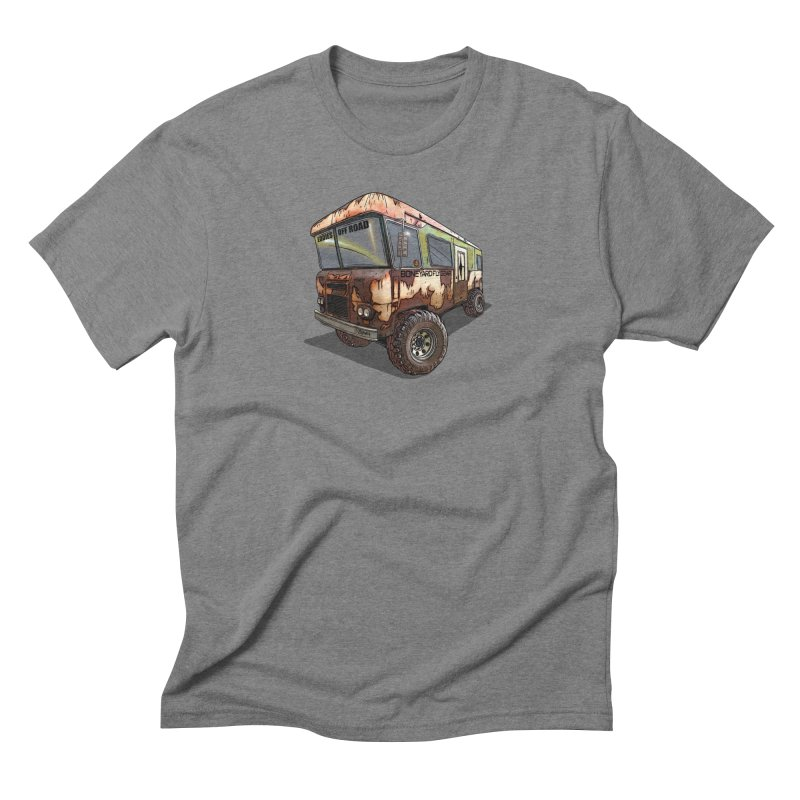 Cousin Eddie RV in Men's Triblend T-Shirt Grey Triblend by Boneyard Studio - Boneyard Fly Gear