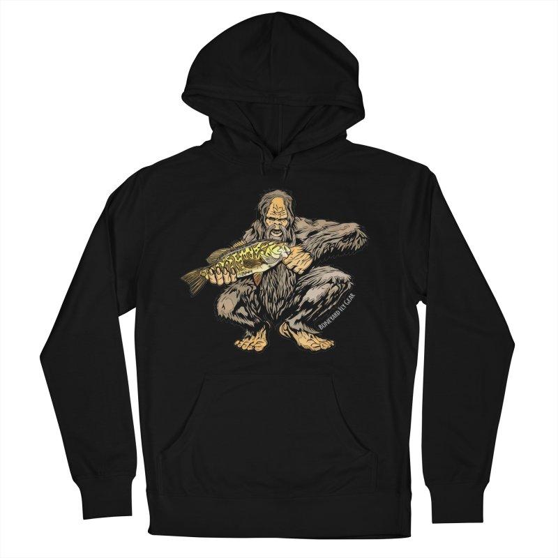 Squatch Smallmouth XL Men's French Terry Pullover Hoody by Boneyard Studio - Boneyard Fly Gear