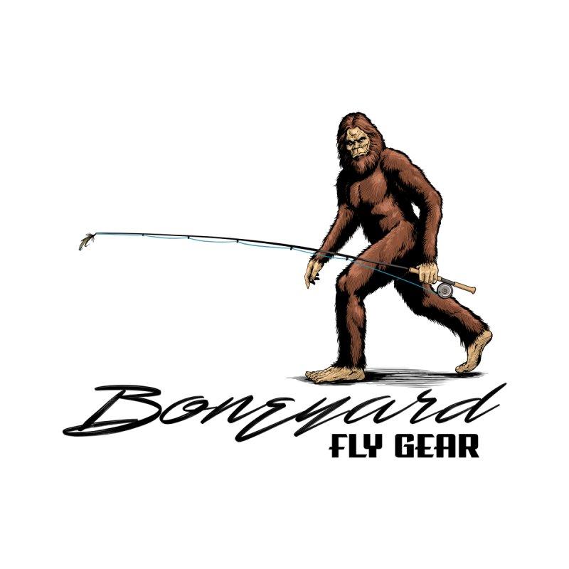Squatch Spey Men's T-Shirt by Boneyard Studio - Boneyard Fly Gear
