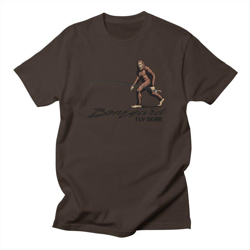 Squatch Spey Men's Regular T-Shirt by Boneyard Studio - Boneyard Fly Gear