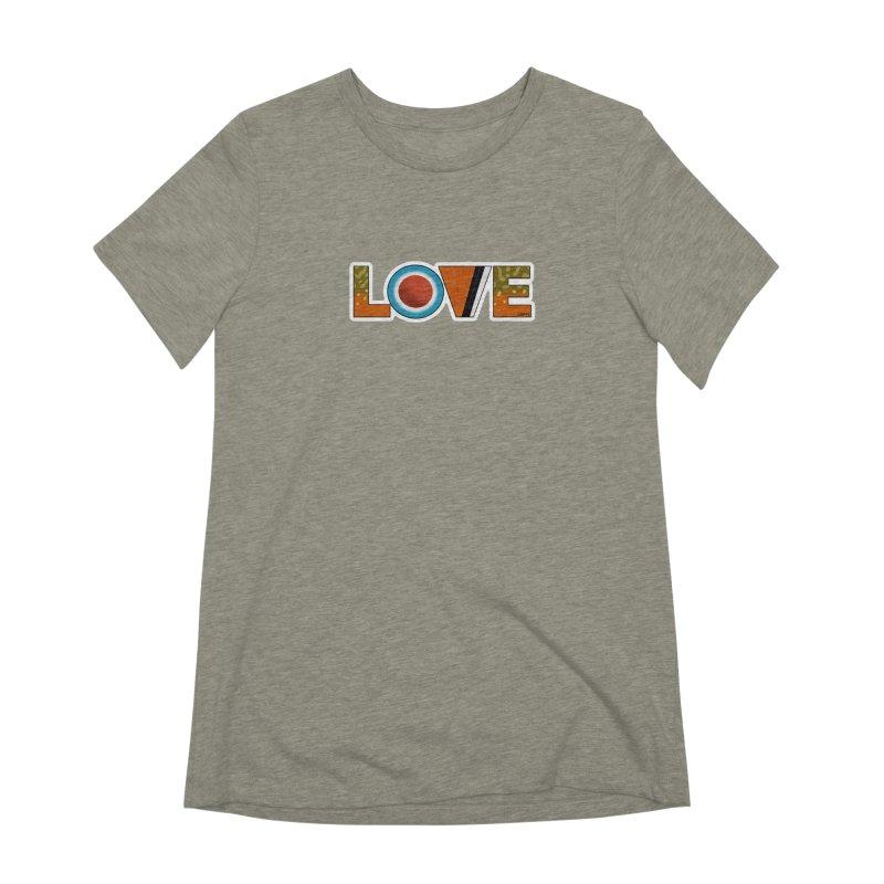 Love Brook Trout Women's Extra Soft T-Shirt by Boneyard Studio - Boneyard Fly Gear