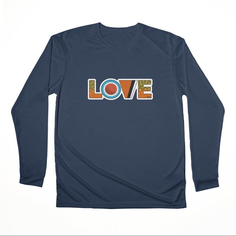 Love Brook Trout Women's Performance Unisex Longsleeve T-Shirt by Boneyard Studio - Boneyard Fly Gear