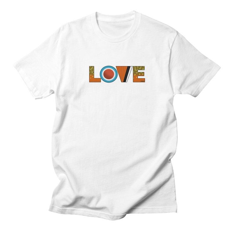 Love Brook Trout Men's Regular T-Shirt by Boneyard Studio - Boneyard Fly Gear