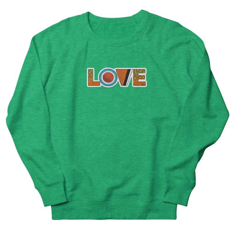 Love Brook Trout Women's Sweatshirt by Boneyard Studio - Boneyard Fly Gear