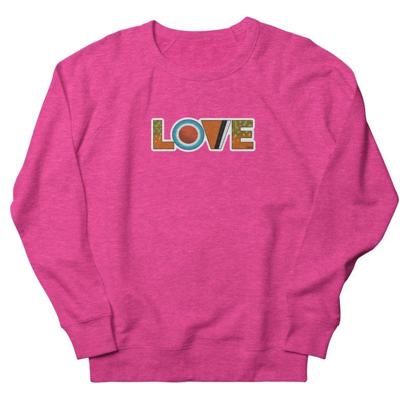 Love Brook Trout Women's French Terry Sweatshirt by Boneyard Studio - Boneyard Fly Gear