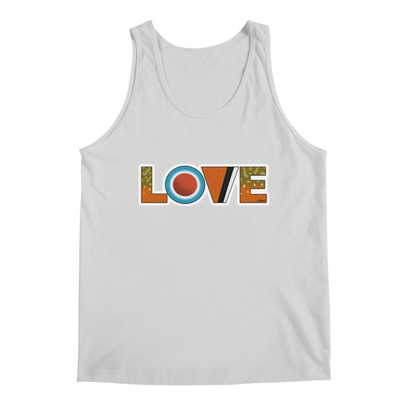 Love Brook Trout Men's Regular Tank by Boneyard Studio - Boneyard Fly Gear