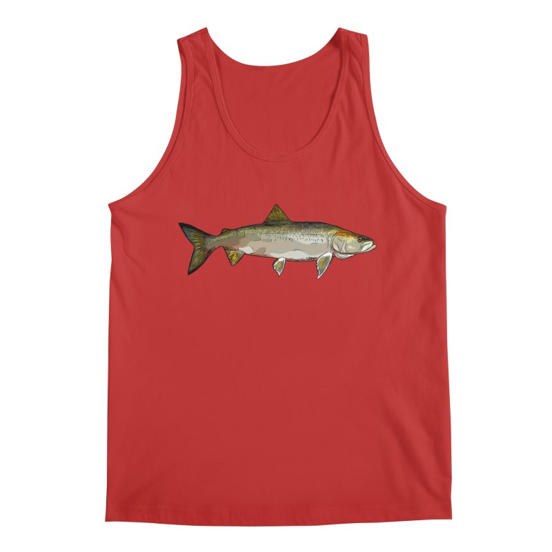 H2O Inconnu Men's Regular Tank by Boneyard Studio - Boneyard Fly Gear