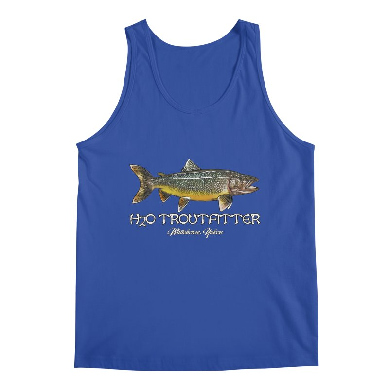 H2O Troutfitter Laker Men's Regular Tank by Boneyard Studio - Boneyard Fly Gear