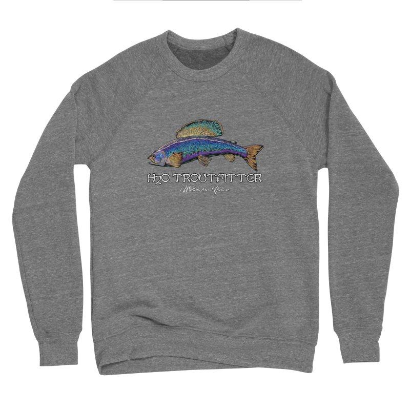 H2O Troutfitter Grayling Men's Sponge Fleece Sweatshirt by Boneyard Studio - Boneyard Fly Gear