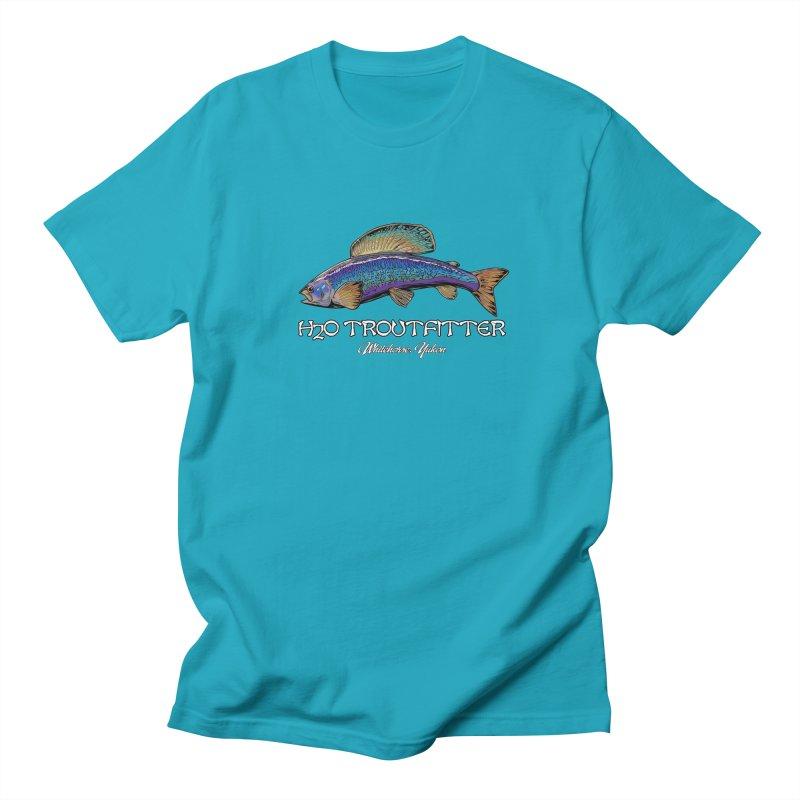 H2O Troutfitter Grayling Men's Regular T-Shirt by Boneyard Studio - Boneyard Fly Gear