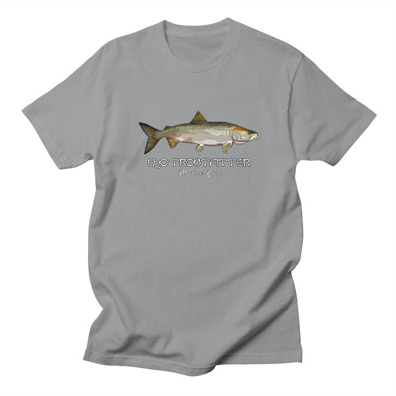 H2O Troutfitter Inconnu Men's Regular T-Shirt by Boneyard Studio - Boneyard Fly Gear