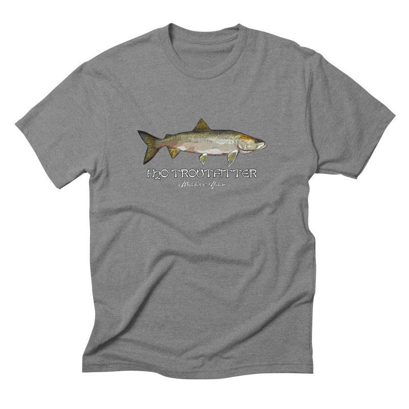 H2O Troutfitter Inconnu in Men's Triblend T-Shirt Grey Triblend by Boneyard Studio - Boneyard Fly Gear