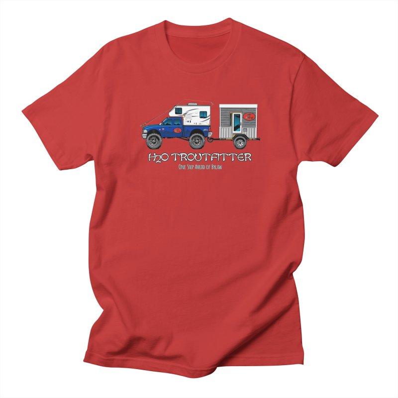 H2O Troutfitter Traveling Fly Shop Men's Regular T-Shirt by Boneyard Studio - Boneyard Fly Gear