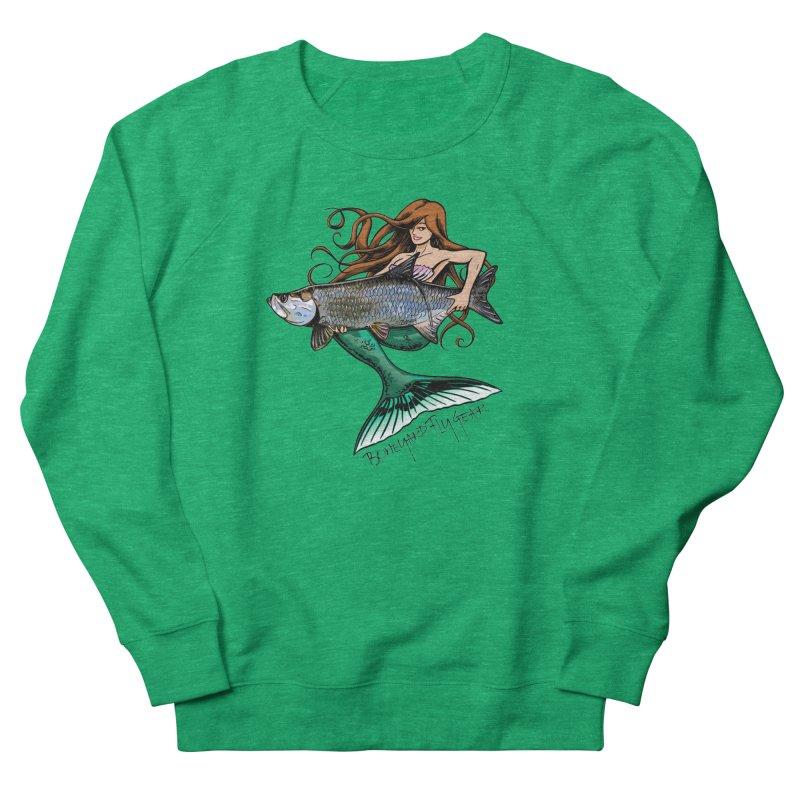 Mermaid Tarpon Women's Sweatshirt by Boneyard Studio - Boneyard Fly Gear