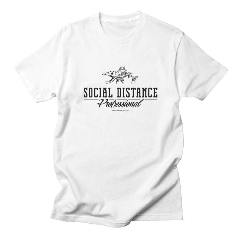 Social Distance Pro Men's Regular T-Shirt by Boneyard Studio - Boneyard Fly Gear