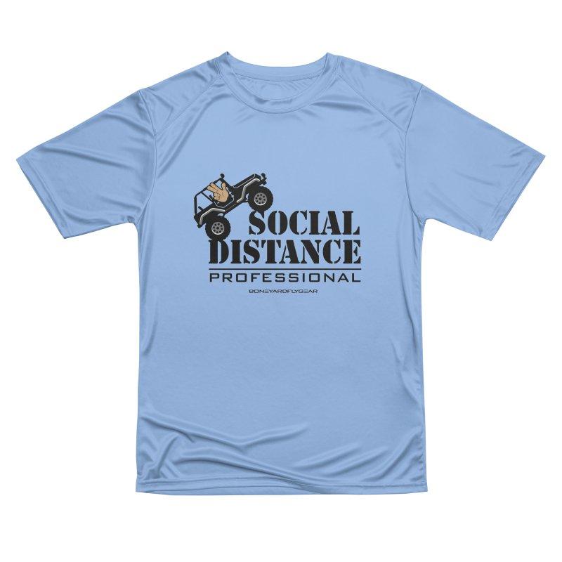 Off Road Social Distancing Men's Performance T-Shirt by Boneyard Studio - Boneyard Fly Gear