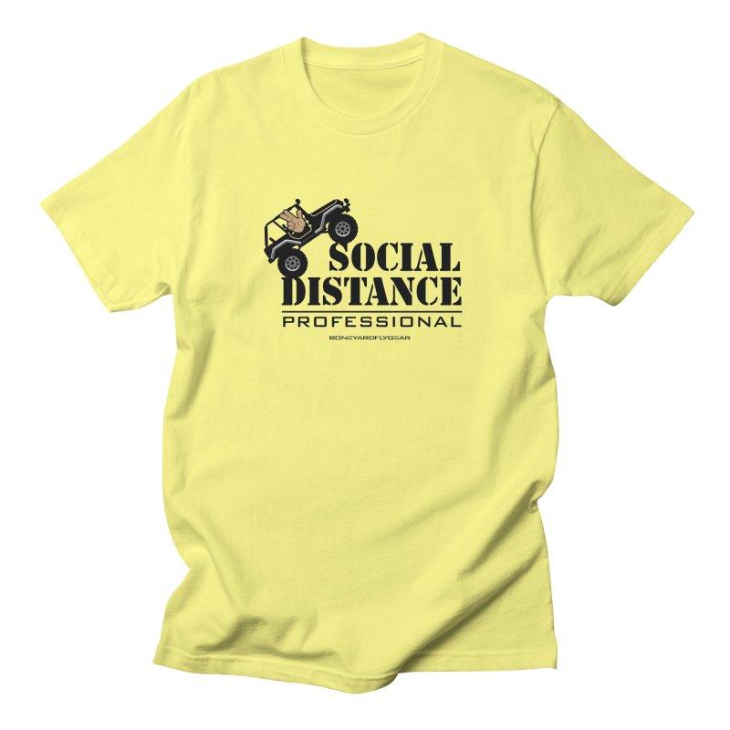 Off Road Social Distancing Men's Regular T-Shirt by Boneyard Studio - Boneyard Fly Gear