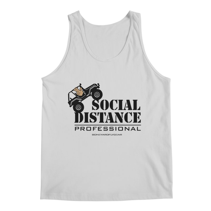 Off Road Social Distancing Men's Regular Tank by Boneyard Studio - Boneyard Fly Gear