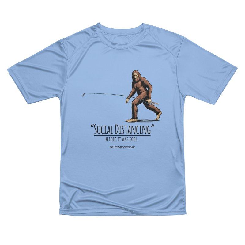 Social Distancing before it was cool. Men's Performance T-Shirt by Boneyard Studio - Boneyard Fly Gear