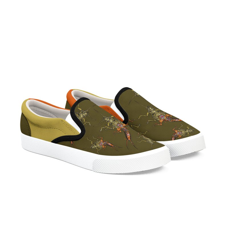 Brook Stone Slip Ons Men's Shoes by Boneyard Studio - Boneyard Fly Gear