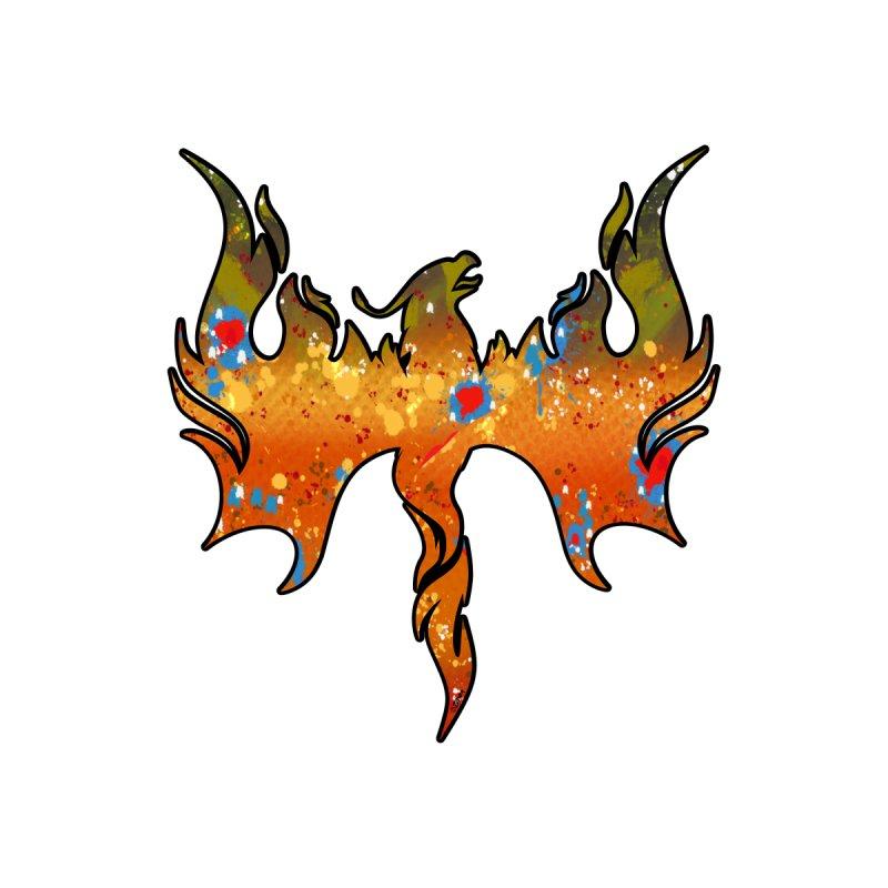 Fire Bird Brook Trout Men's T-Shirt by Boneyard Studio - Boneyard Fly Gear