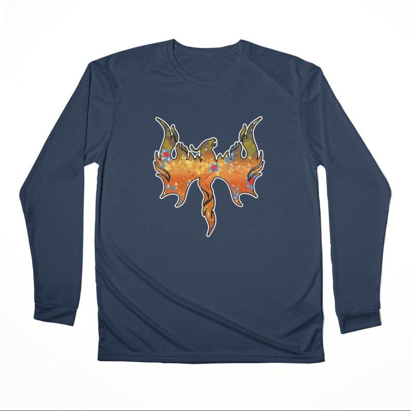 Fire Bird Brook Trout Men's Performance Longsleeve T-Shirt by Boneyard Studio - Boneyard Fly Gear