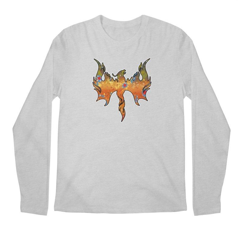 Fire Bird Brook Trout Men's Regular Longsleeve T-Shirt by Boneyard Studio - Boneyard Fly Gear