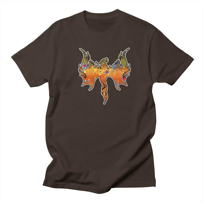 Fire Bird Brook Trout Men's Regular T-Shirt by Boneyard Studio - Boneyard Fly Gear