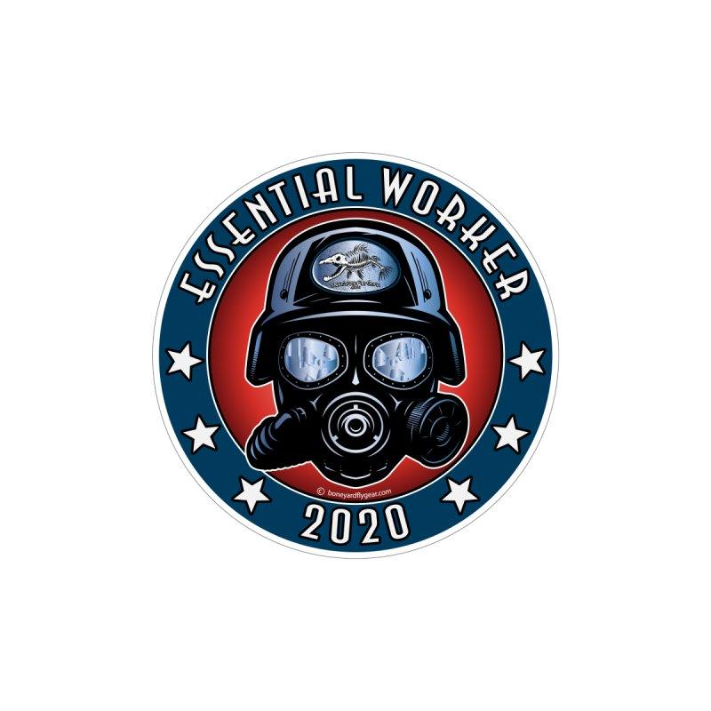 Essential Worker 2020 Men's T-Shirt by Boneyard Studio - Boneyard Fly Gear