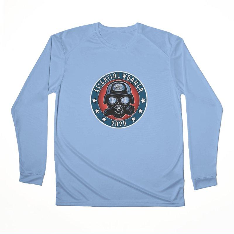 Essential Worker 2020 Men's Longsleeve T-Shirt by Boneyard Studio - Boneyard Fly Gear