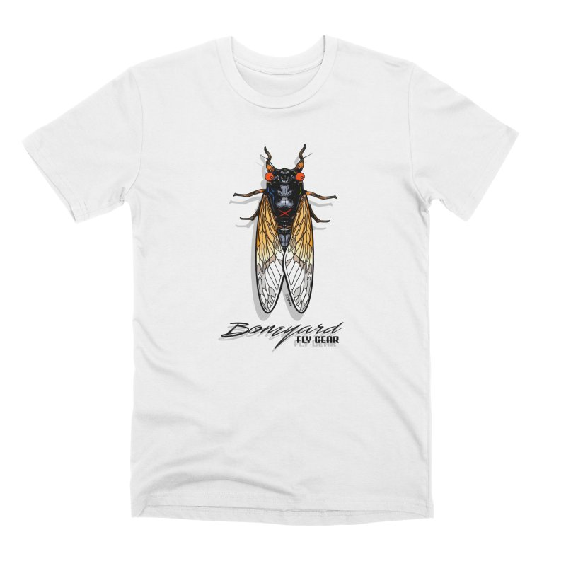 Brood X Men's T-Shirt by Boneyard Studio - Boneyard Fly Gear