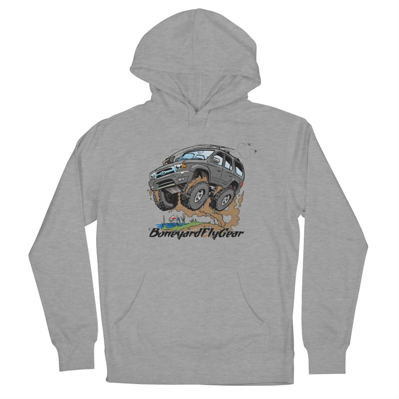 Runnin' to the Run Women's Pullover Hoody by Boneyard Studio - Boneyard Fly Gear
