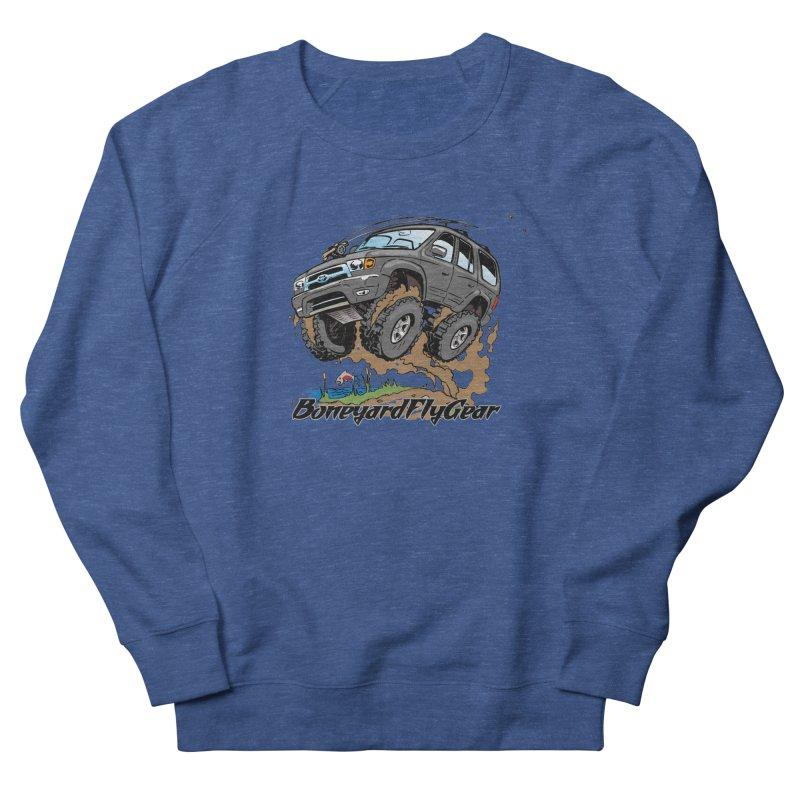Runnin' to the Run Women's French Terry Sweatshirt by Boneyard Studio - Boneyard Fly Gear