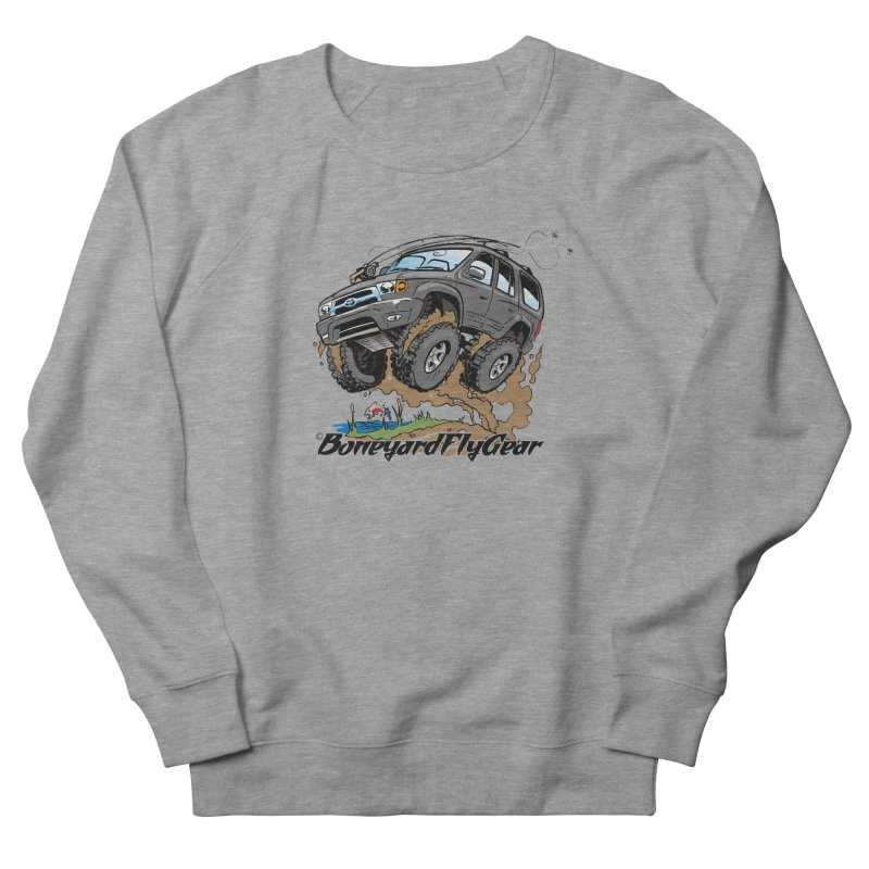 Runnin' to the Run Women's French Terry Sweatshirt by Boneyard Studio - Boneyard Fly Gear