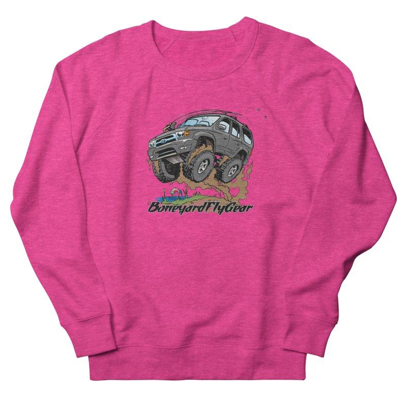 Runnin' to the Run Women's Sweatshirt by Boneyard Studio - Boneyard Fly Gear