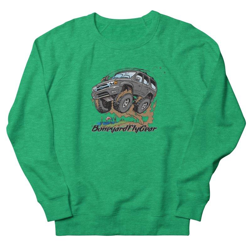 Runnin' to the Run Men's Sweatshirt by Boneyard Studio - Boneyard Fly Gear