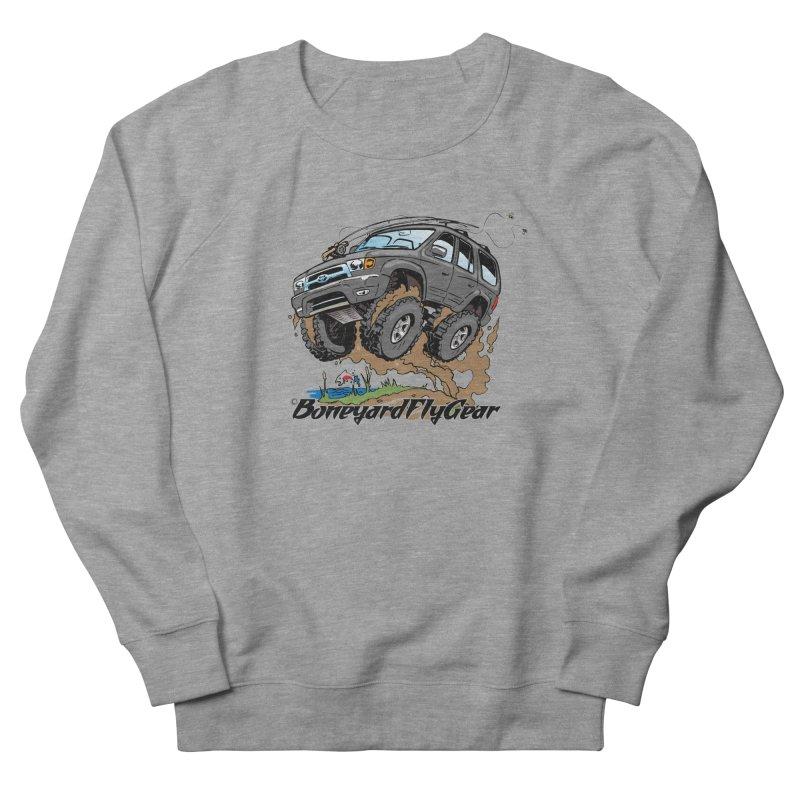 Runnin' to the Run Men's French Terry Sweatshirt by Boneyard Studio - Boneyard Fly Gear