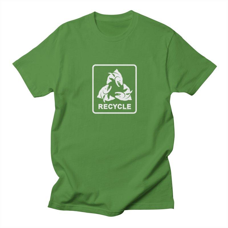 Our famous Recycle Tee is back! Women's Unisex T-Shirt by Boneyard Studio - Boneyard Fly Gear