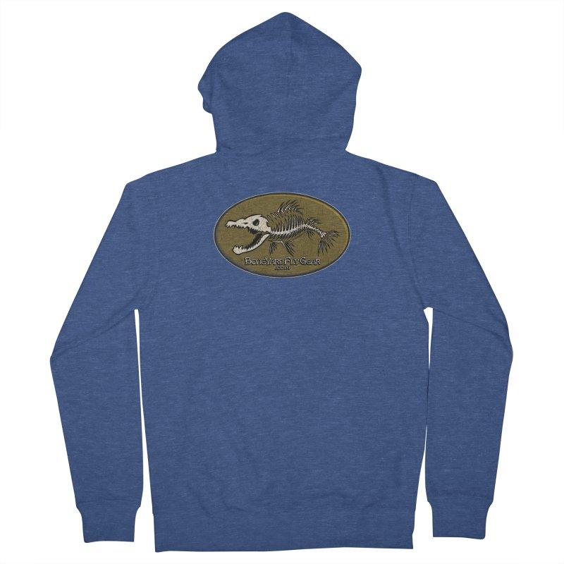 BYFG Logo Tee! Men's Zip-Up Hoody by Boneyard Studio - Boneyard Fly Gear