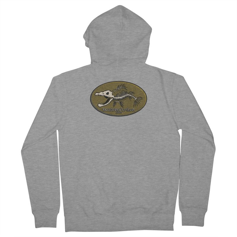 BYFG Logo Tee! Men's Zip-Up Hoody by Boneyard Studio - Boneyard Fly Gear