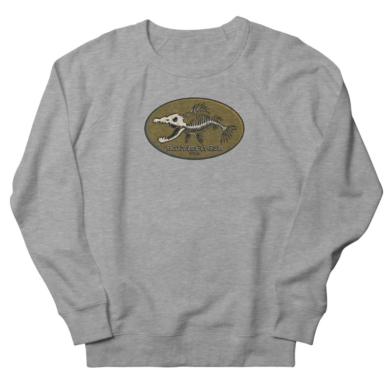 BYFG Logo Tee! Women's French Terry Sweatshirt by Boneyard Studio - Boneyard Fly Gear