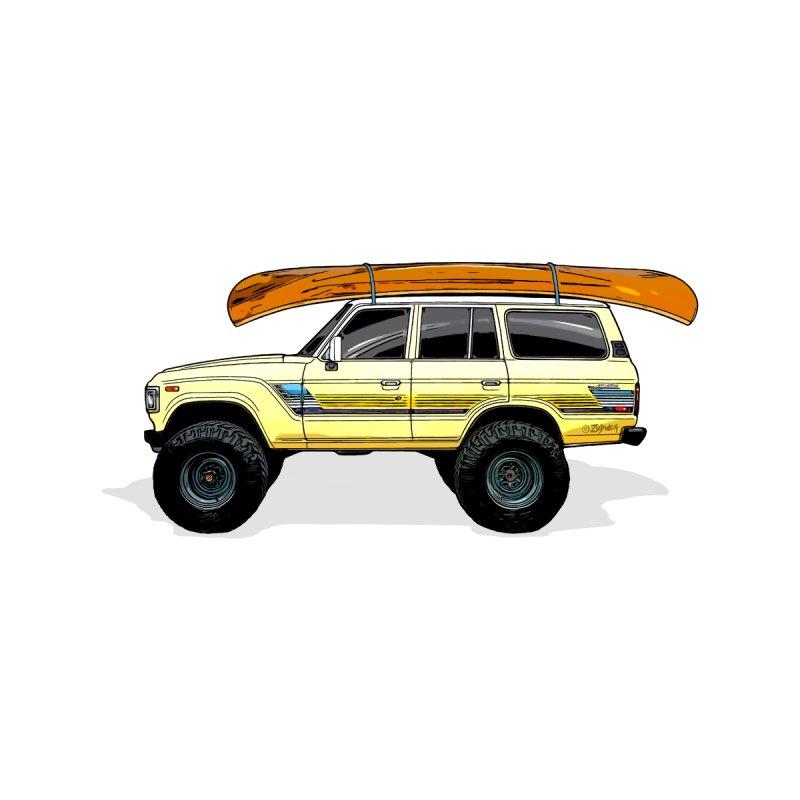Land cruiser canoe Men's T-Shirt by Boneyard Studio - Boneyard Fly Gear