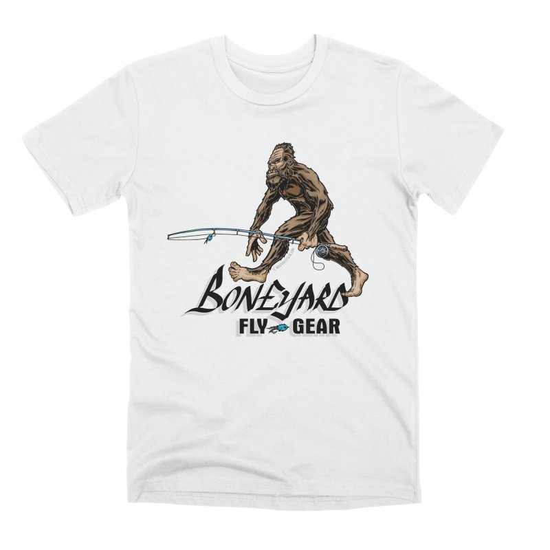 Spey Squatch Men's T-Shirt by Boneyard Studio - Boneyard Fly Gear