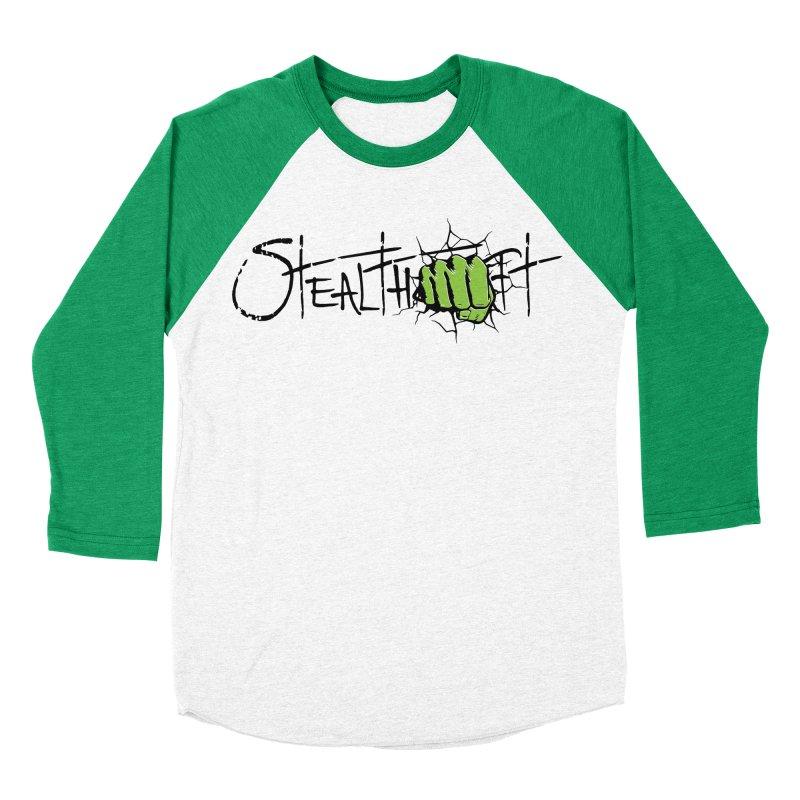 Stealthcraft Hulk Tee in Men's Baseball Triblend Longsleeve T-Shirt Tri-Kelly Sleeves by Boneyard Studio - Boneyard Fly Gear