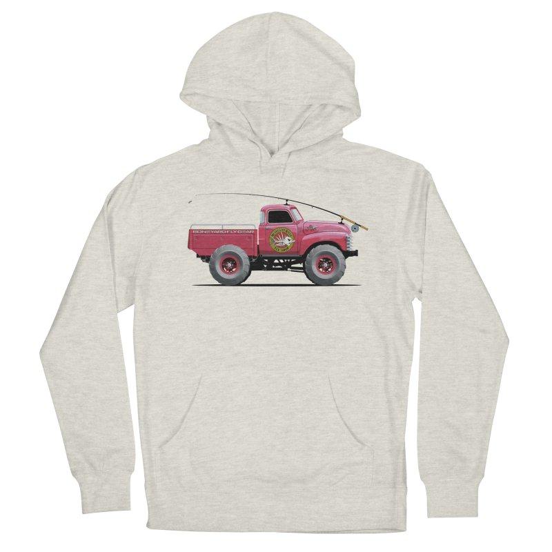 Muskegon River Fly Shop Truck Men's Pullover Hoody by Boneyard Studio - Boneyard Fly Gear