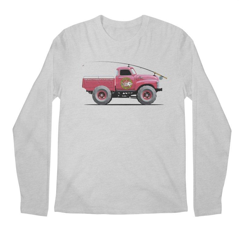 Muskegon River Fly Shop Truck Men's Longsleeve T-Shirt by Boneyard Studio - Boneyard Fly Gear