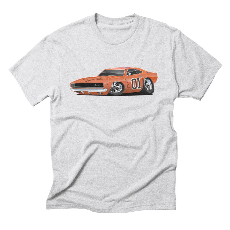 Charger Men's Triblend T-shirt by Boneyard Studio - Boneyard Fly Gear